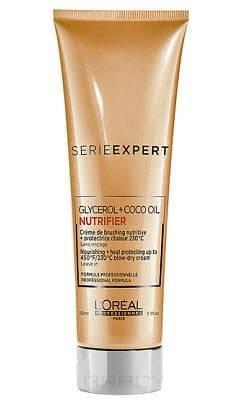 Крем термозащитный Serie Expert Nutrifier, 150 мл крем для кончиков волос serie expert nutrifier 40 мл