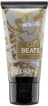 Redken, Краска тоник для волос ярких цветов City Beats Color Crem, 85 мл (12 тонов) Золотой Металлик