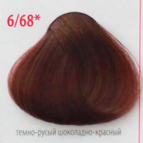 Constant Delight, Крем краска для волос с витамином С Crema Colorante Vit C (121 оттенок), 100 мл Д 6/68 темно-русый шоколадно-красный цена 2017