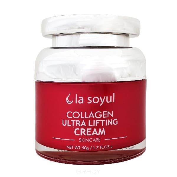 La Soyul, Collagen Ultra Lifting Cream Крем для лица с коллагеном, ультра лифтинг, 50 гр steblanc collagen firming сыворотка лифтинг для лица с коллагеном collagen firming сыворотка лифтинг для лица с коллагеном