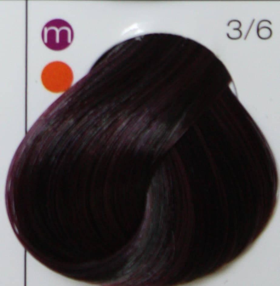 Londa, Интенсивное тонирование Лонда краска тоник для волос (палитра 48 цветов), 60 мл LONDACOLOR интенсивное тонирование 3/6 тёмный шатен фиолетовый, 60 мл