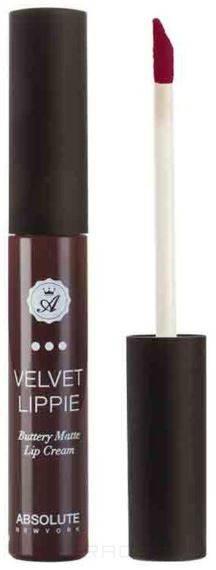 Absolute New York, Жидкая матовая помада Velvet Lippie (26 оттенков) Vampette все цены