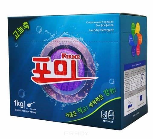 Купить For Me, Laundry Detergent High Concentration Стиральный порошок, высококонцентрированный, 1 кг