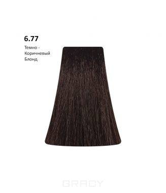 Купить BB One, Перманентная крем-краска Picasso Colour Range без аммиака (76 оттенков) 6.77Dark Brown Blond/Темно-Коричневый Блондин