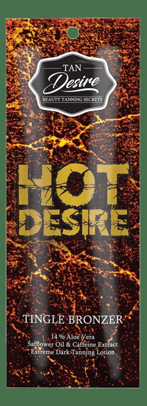 Tan Desire, Лосьон для загара с бронзатором Hot Desire, 250 мл california tan крем для загара в солярии status tan pure step 2 250 мл