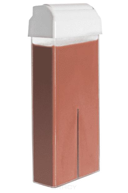 Воск в картридже шоколадный, 100 мл yoko воск для депиляции в картридже мед 100 мл