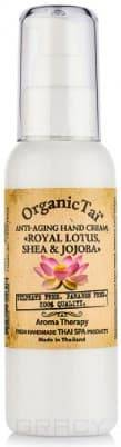 Купить Organic Tai, Крем для рук Anti-Aging Hand Cream Royal Lotus, Shea & Jojoba , 120 мл