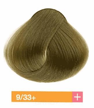 Купить Lakme, Перманентная крем-краска Collage, 60 мл (99 оттенков) 9/33+ Светлый блондин интенсивный золотистый яркий