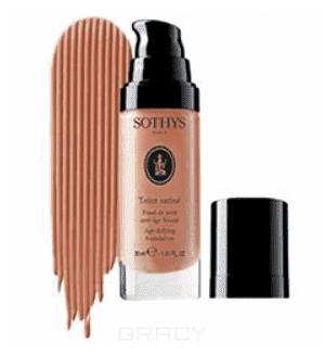 Sothys Тональная Anti-age основа с разглаживающим действием 7 оттенков Бежево-розовый BR40