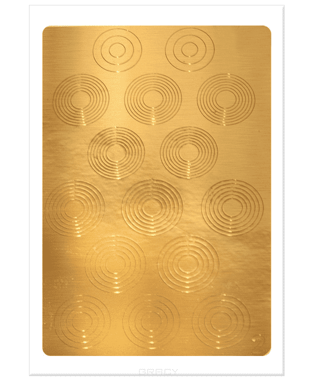 Planet Nails, Металлизированные наклейки-трафареты (38 рисунков) Металлизированные наклейки-трафаретыДизайн дл ногтей<br><br>