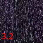 Купить Kaaral, Перманентный краситель для волос Maraes Color Nourishing, 60 мл (58 тонов) 3.2 темный фиолетовый каштан