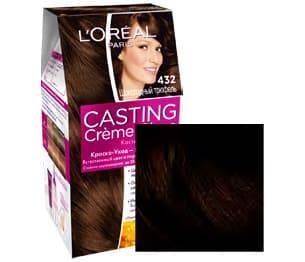 LOreal, Краска для волос Casting Creme Gloss (37 оттенков), 254 мл 432 Шоколадный трюфельОкрашивание<br><br>