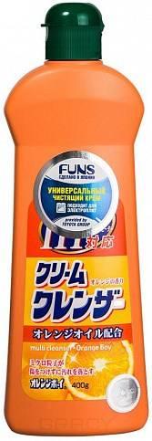 Funs, Крем чистящий универсальный с ароматом апельсина Orange Boy, 400 гр funs крем чистящий универсальный с ароматом апельсина orange boy 400 гр