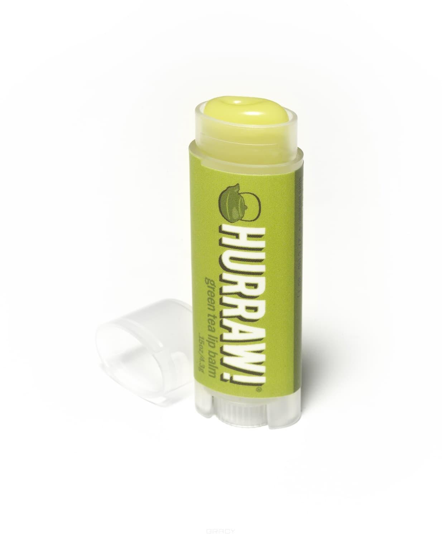 Бальзам для губ Зеленый чай Green Tea Lip BalmБальзам для губ Hurraw! Капха создан на основе аюрведы (древней индийской медицины). Аюрведическая серия бальзамов создавалась более двух лет. Натуральный продукт с необычным сочетанием вкусов. Такое разнообразие вкусов оценят даже самые придирчивые гурманы. Полностью органическая продукция, не имеющая в составе ингредиентов животного происхождения. Удобная форма позволяет помещать бальзам в карман джинсов.&#13;<br>&#13;<br>  &#13;<br>&#13;<br>&#13;<br>Особенности бальзамов Hurraw!:&#13;<br>&#13;<br>Удобная форма упаковки, позволяет использовать бальзам даже за рулем автомобиля;&#13;<br>&#13;<br>Содержат кунжутное масло, кокосовое молоко, масло какао и другие натуральные ингредиенты, делающие Ваши губы мягкими и привлекательными;&#13;<br>&#13;<br>Имеют приятный запах и вкус;&#13;<br>&#13;<br>Не содержат воска и вредных веществ, чистый продукт;&#13;<br>&#13;<br>Высокое качество, соответствующее цене;&#13;<br>&#13;<br>22 ярких вкуса;<br>