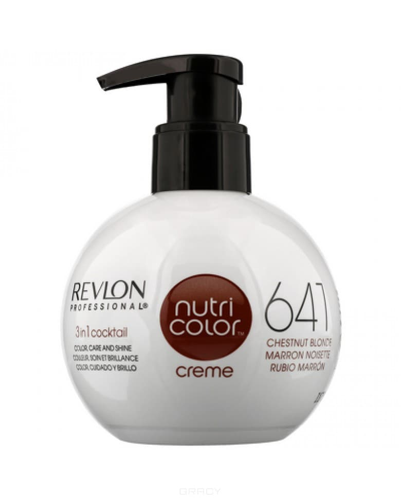 Revlon, Крем-краска для волос 3 в 1 Nutri Color Creme, (52 оттенка) 641 Каштановый светлый high quality 3x cree xml t6 15x cree xml t6 led b 32000 lumens 5 mode 18650 super bright led flashlight camping lamp light