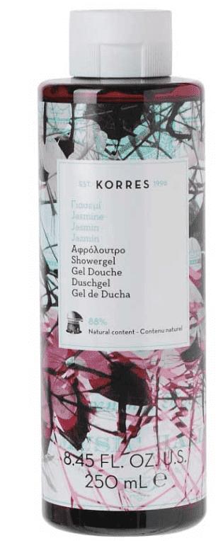 Korres, Гель для душа Жасмин, 250 мл гель для душа korres blue sage lime fir wood shower gel 250 мл