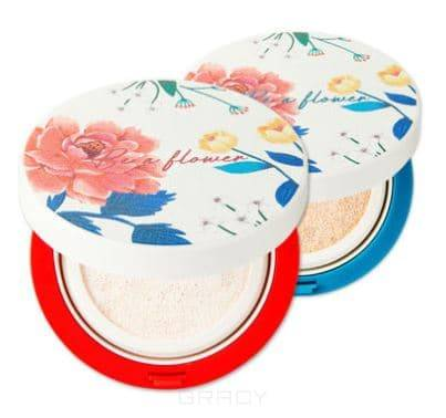 Be A Flower Tone-Up Cushion (2 оттенка) Осветляющая кушон-основа, 15 гр автокресло chicco youniverse standard группа 1 2 3 red passion 07079206640000