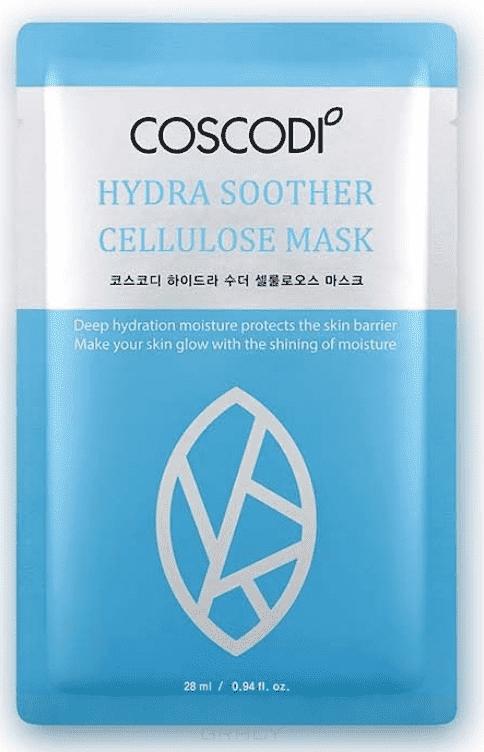 Coscodi, Тканевая маска с эффектом глубокого увлажнения Hydra Soother Cellulose Mask фото