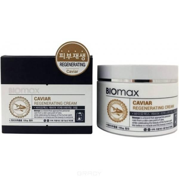 Купить Biomax, Крем для лица с экстрактом икры Caviar Regenerating Cream, 100 мл