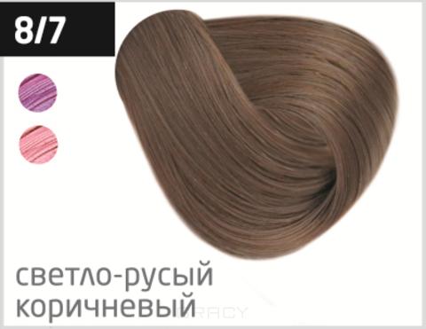 Купить OLLIN Professional, Перманентная стойкая крем-краска с комплексом Vibra Riche Ollin Performance (120 оттенков) 8/7 светло-русый коричневый
