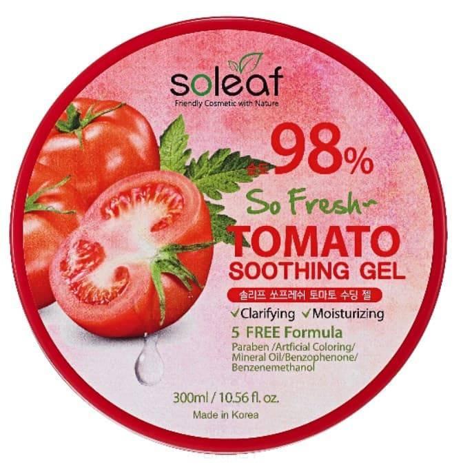 Купить Soleaf, Успокаивающий гель с томатом So Fresh Tomato Soothing Gel, 300 мл