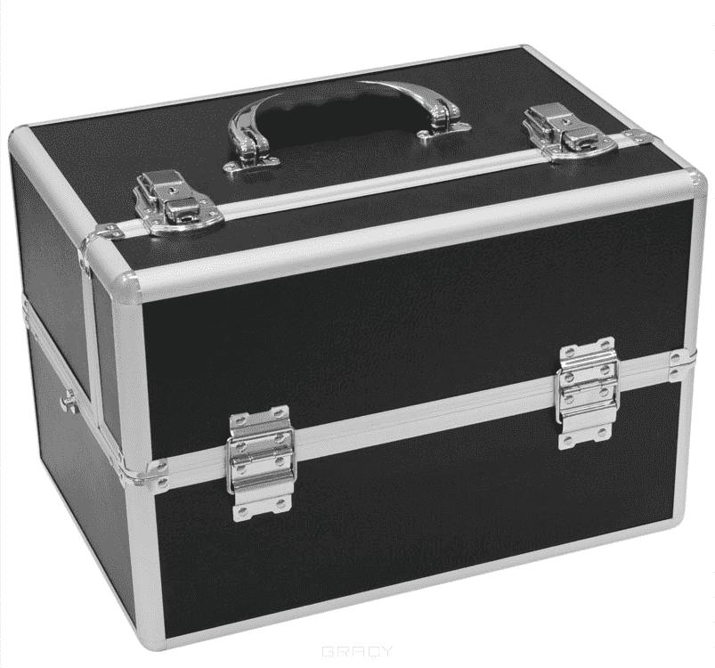 Planet Nails, Чемодан Альфа (2 цвета), 1 шт, Черный WT-405K-blackЧемоданы и сумки профессиональные<br><br>