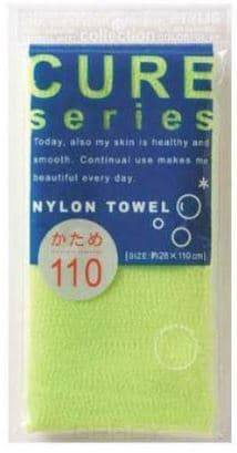 Oh:e, Мочалка для тела жесткая (зеленая) Cure Nylon Towel Regular (Green) мягкая мочалка для тела sungbo cleamy clean and beauty natural shower towel 28x100