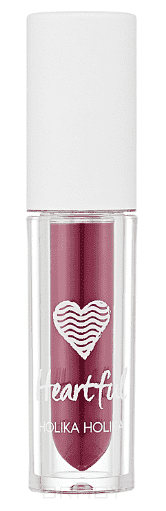 Holika Holika, Вельветовая помада-мусс Хартфул Флюид Heartful Fluid Mousse, 2,2 мл (6 тонов) Тон PP02, слива мусс тонирующий тон 1 sand soft touch matt mousse essence