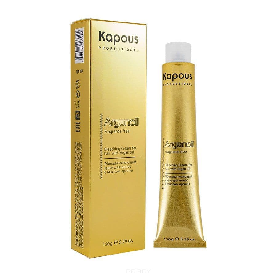 Краска супра блондирующая для волос с маслом арганы Arganoil, 150 мл