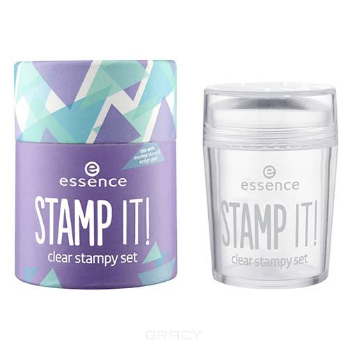 Essence, Набор для дизайна ногтей Stamp It! Clear Stampy Set konad набор для стемпинга set