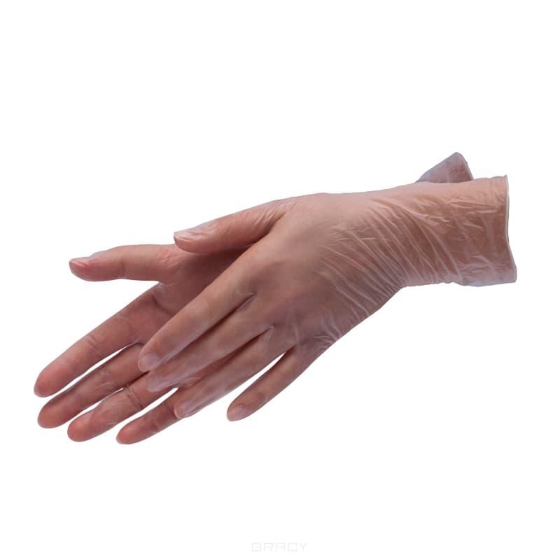 Planet Nails, Перчатки виниловые, 100 шт/уп, 100 шт/уп, S planet nails сменные ногти на муляж руки 100 шт уп