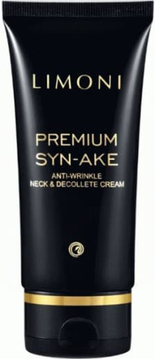 Купить Limoni, Антивозрастной крем для шеи и декольте со змеиным ядом Premium Syn-Ake Anti-Wrinkle Neck&Decollete Cream, 75 мл
