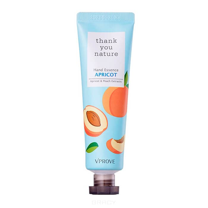 Vprove, Крем-эссенция для рук увлажняющий Сенкью Нейча, абрикос Thank You Nature Hand Essence Apricot, 30 мл