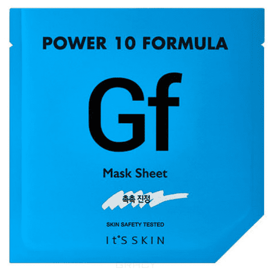 It's Skin, Power 10 Formula Mask Sheet GF Тканевая маска увлажняющая, 25 мл guerlain super aqua mask увлажняющая маска super aqua mask увлажняющая маска