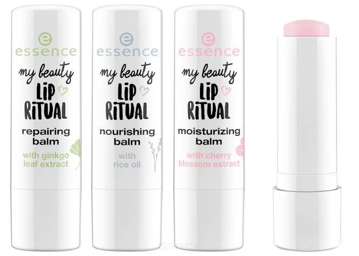 Купить Essence, Бальзам для губ My Beauty Lip Ritual Balms, 4.8 гр (3 варианта), №01, восстанавливающий