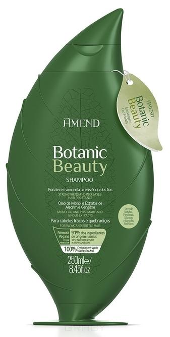 Купить Amend, Органический шампунь для укрепления волос с экстрактами розмарина и имбиря Botanic Beauty Shampoo, 250 мл