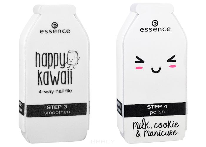Essence, Пилочка Happy Kawaii 4-way Nail File essence пилочка для ногтей металлическая sapphire file