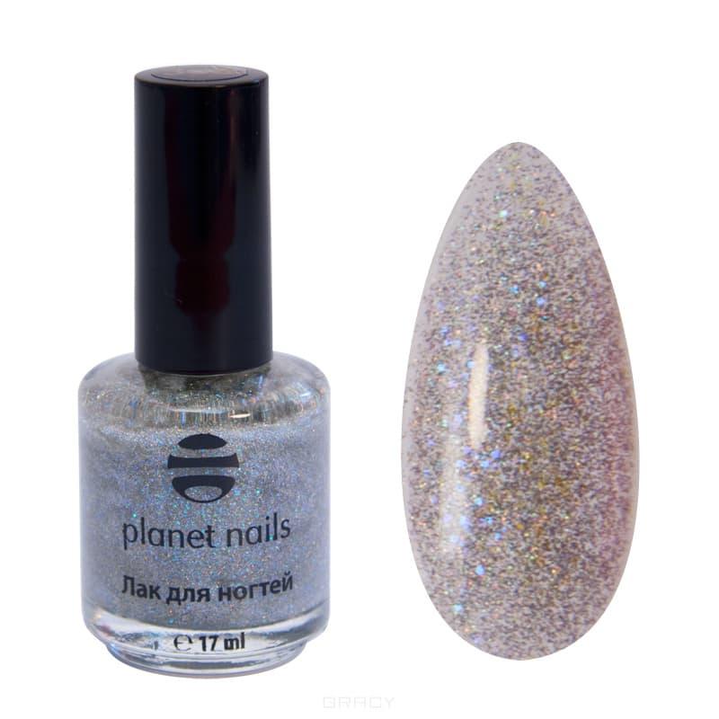 Planet Nails, Глиттер лак для ногтей, 17 мл (21 оттенок) 316