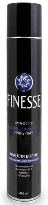 Купить Finesse, Лак для волос ультрасильной фиксации, 400 мл