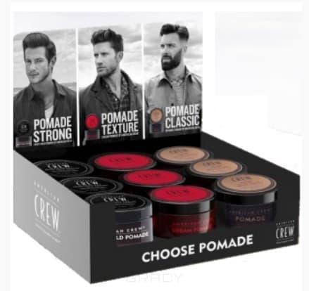 Набор из 9 помад для укладки волос Выберите свой стайлинг Choose Pomade Display, 85г*9