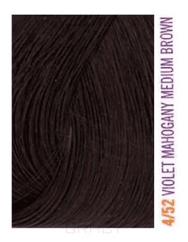Lakme, Крем-краска для волос тонирующая Gloss, 60 мл (54 оттенка) 4/52 Средне-каштановый с оттенком красного дерева фиолетовый simba кукла еви счастливая ферма