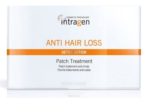 цена Revlon, Пластырь против выпадения волос Intragen Anti-Hair Loss Treatment Patch, 30 шт