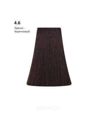 Купить BB One, Перманентная крем-краска Picasso Colour Range без аммиака (76 оттенков) 4.6Red Brown/Красно-Коричневый