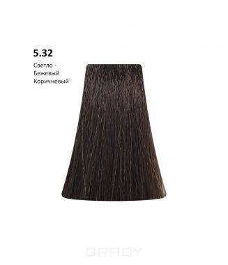 Купить BB One, Перманентная крем-краска Picasso Colour Range без аммиака (76 оттенков) 5.32Light Beige Brown/Светлый-Бежевый Коричневый