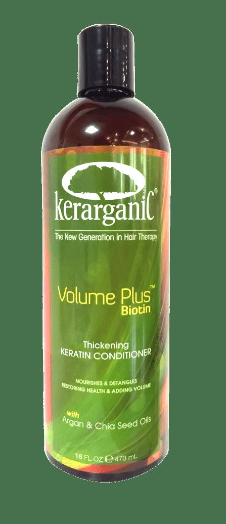 Kerarganic, Кератиновый кондиционер с Биотином «Объем плюс биотин», 473 мл kerarganic кондиционер восстанавливающий безсульфатный 473 мл