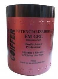 Coiffer, Мини продукт Potencializador Em Gel, 60 млКератиновое выпрямление<br><br>