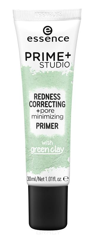 Купить Essence, Праймер Prime+ Studio Redness Correcting+Pore Minimizing Primer, 30 мл