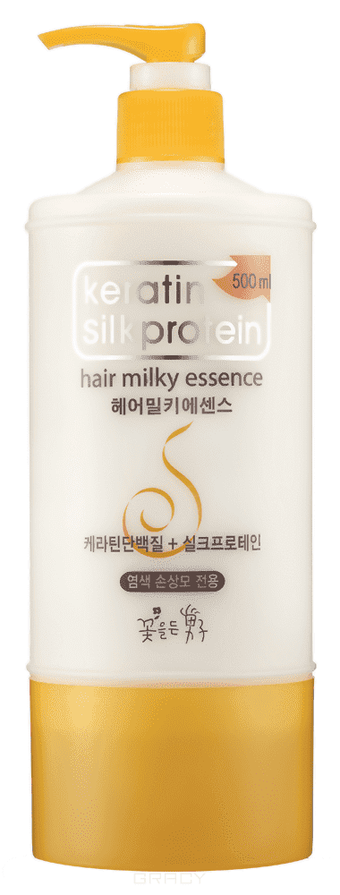 Keratin Silkprotein Питающая молочная эссенция для волос с протеинами шелка Hair Milky Essence, 500 мл keratin silkprotein питающая молочная эссенция для волос с протеинами шелка hair milky essence 500 мл