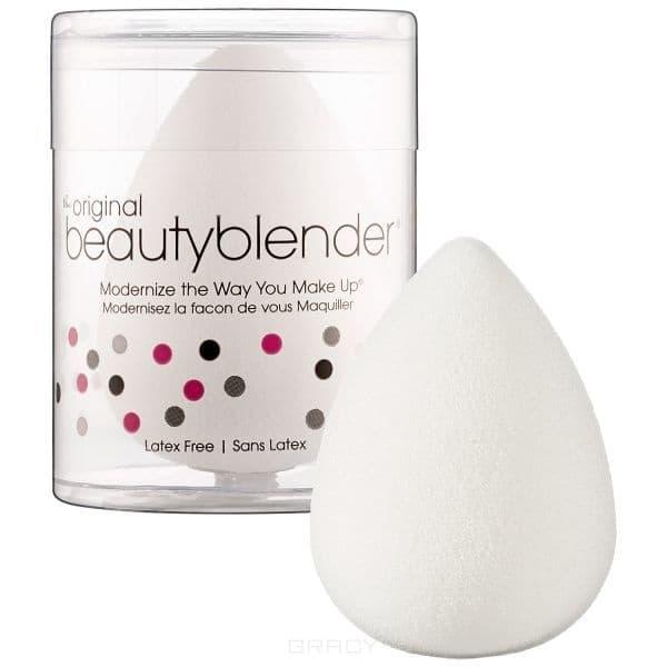 BeautyBlender, Спонж для макияжа Pure, белый спонж для макияжа beautyblender beautyblender be066lwizz43