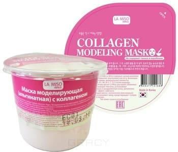 La Miso, Modeling Mask Collagen Маска для лица моделирующая (альгинатная) с коллагеном, для сухой кожи Ла Мисо, 28 гр все цены